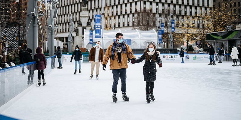 Detroit's Rink at Campus Martius extends season to spring