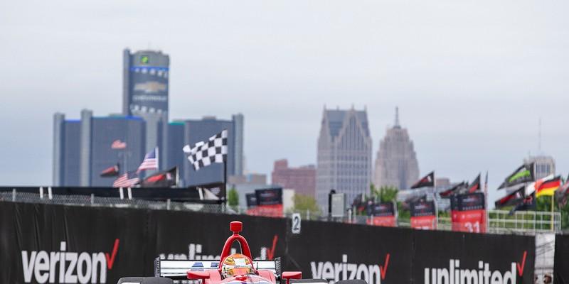 The Chevrolet Detroit Grand Prix on Belle Isle.