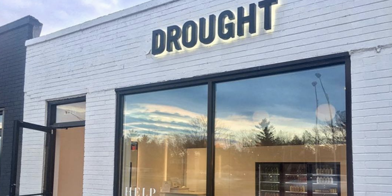 Drought's Royal Oak location is among the four to close at the end of April.