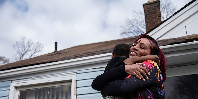 Moms behind bars: Photo project shines light on how Michigan's criminal justice system fails families