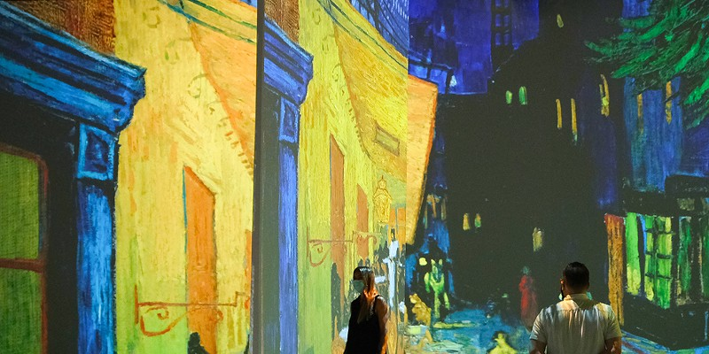 Beyond Van Gogh is one of two immersive Detroit events celebrating the iconic artist.