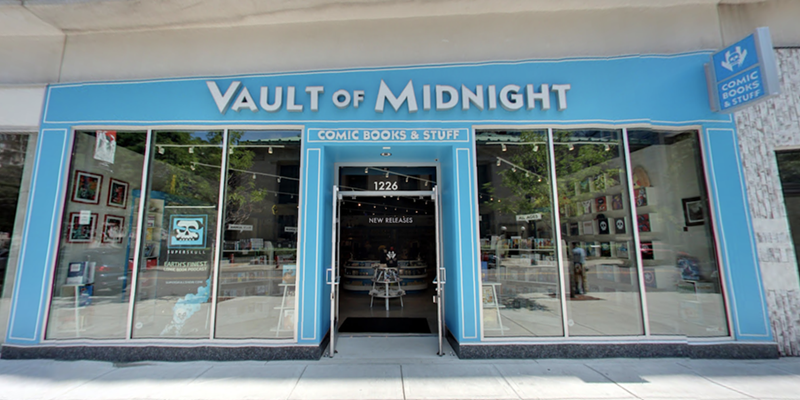 Vault of Midnight is saying 'goodbye' to downtown and 'hello' to Milwaukee Junction when the comic shop moves into bigger digs this fall.