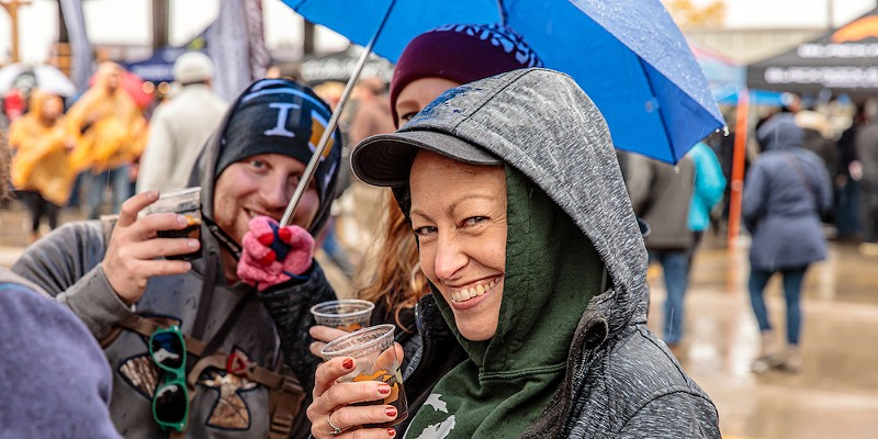 Drink responsibly at the annual Detroit Fall Beer Festival.