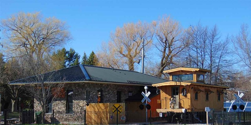 This solar-powered converted train car can be your home for $675k