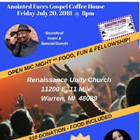 Anointed Faces Gospel Coffee House OPEN MIC Night