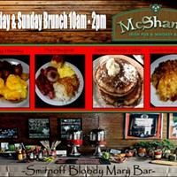 Weekend Brunch at McShane's