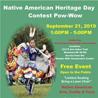 Native American Heritage Day Pow