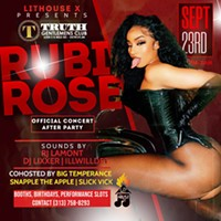 Rubi Rose 🌹 Official Concert Afterparty in Detroit