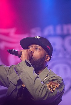 Talib Kweli at Saint Andrew's Hall.