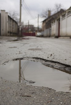Here comes the official event for eating cereal out of potholes in Detroit (2)