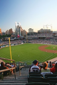 Comerica Park on a better day