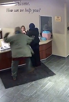 Video shows man attack Muslim woman in Dearborn