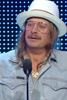 Kid Rock preaches unity during WWE Hall of Fame induction, wants to 'body slam' Democrats