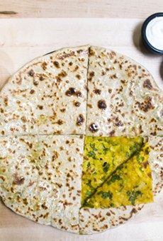 Aloo Paratha at Neehee's