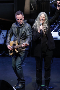 Name a more iconic duo — watch Patti Smith and Bruce Springsteen's reunion