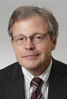 Former Metro Times columnist Jack Lessenberry.