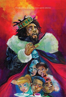 J. Cole's new album cover is designed by a Detroit-based artist (2)