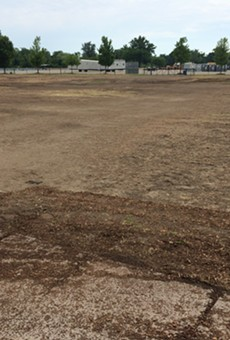 Once again, the Grand Prix tore up Belle Isle, and it's a muddy mess (33)