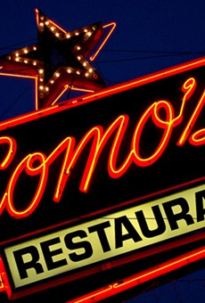 Como's will host pre-construction pop up parties on its patio