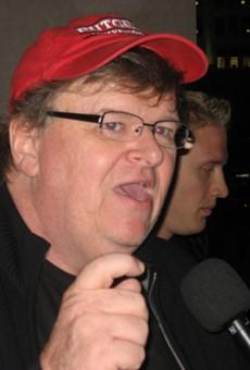 Filmmaker Michael Moore.