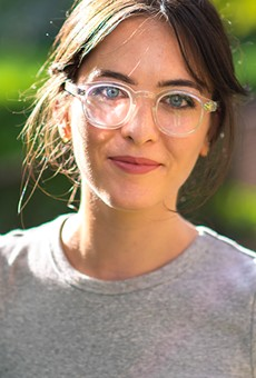Ali Rose VanOverbeke's Genusee Eyewear Designer turns Flint's used water bottles into glasses