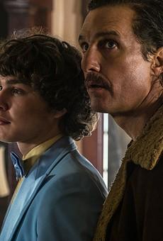 Richie Merritt and Matthew McConaughey play Richard Wershe Jr. and Sr. in White Boy Rick.
