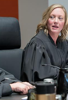 Supreme Court Justice Beth Clement.
