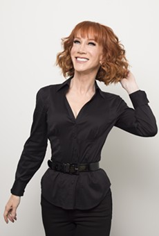 Global gossip girl Kathy Griffin is coming to the Fisher Theatre