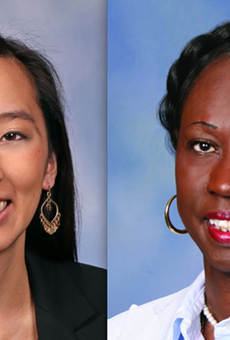 Rep. Stephanie Chang, Rep. Bettie Cook Scott.