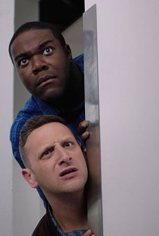 Sam Richardson and Tim Robinson in Comedy Central's Detroiters.
