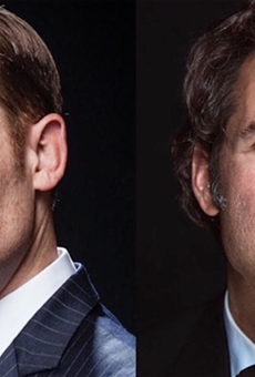 Seriously funny gents Paul F. Tompkins and Marc Evan Jackson will do improv for a good cause