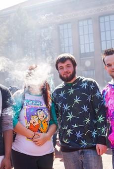 Get higher — Ann Arbor's Hash Bash goes legal with 48th annual blaze-a-thon