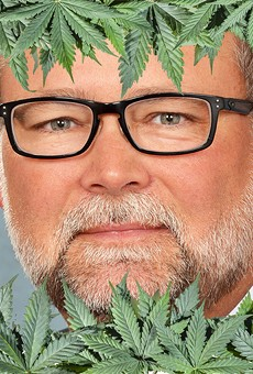 Former Senate Majority Leader-turned cannabis consultant Arlan Meekhof.
