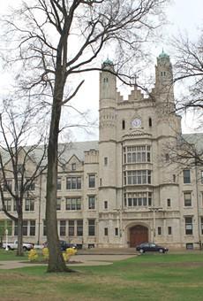 Marygrove College's campus.