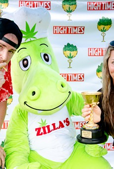 Zilla's Performance Products earned a number of awards at the 2019 High Times Cannabis Cup.