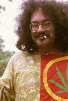 John Sinclair in Ann Arbor in 1968.