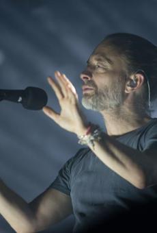 Thom Yorke during Radiohead's 2018 performance at LCA.
