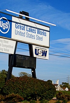 U.S. Steel's Great Lakes facility.