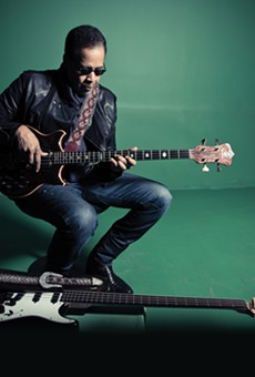 You can catch bassist Stanley Clarke three different times at this year's Jazz Fest.
