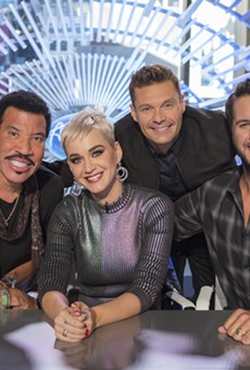 Lionel Richie, Katy Perry, Ryan Seacrest, and Luke Bryan.
