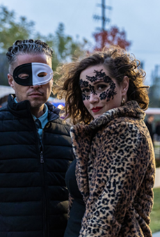 Soiree on the Greenway returns to the Dequindre Cut with full moon masquerade to benefit the Detroit Riverfront