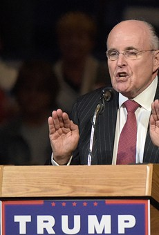 Trump's personal lawyer, Rudy Giuliani.