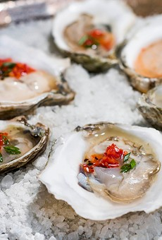 Oysters from Otus Supply.