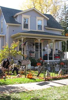 Each Halloween, a two-and-a-half block in Romeo goes all-out with Terror on Tillson Street