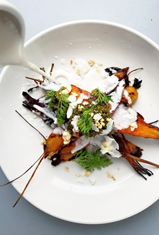 Barbecue Carrots.