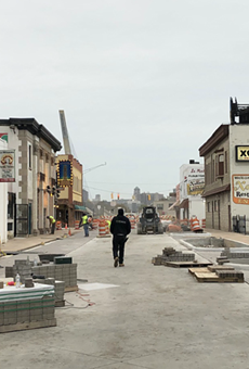 Detroit's multimillion-dollar streetscape project a pain for small businesses