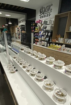 Ann Arbor's Exclusive Brands became the first store in Michigan to be granted a license to sell recreational marijuana. It has since been followed with Greenstone and Arbors Wellness, both also in Ann Arbor.
