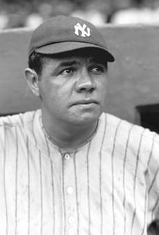 Babe Ruth, 1922.