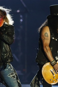 Patience, Detroit —Guns N' Roses will perform at Comerica Park this summer