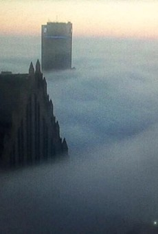 Photo of the Day: Downtown Detroit swathed in fog